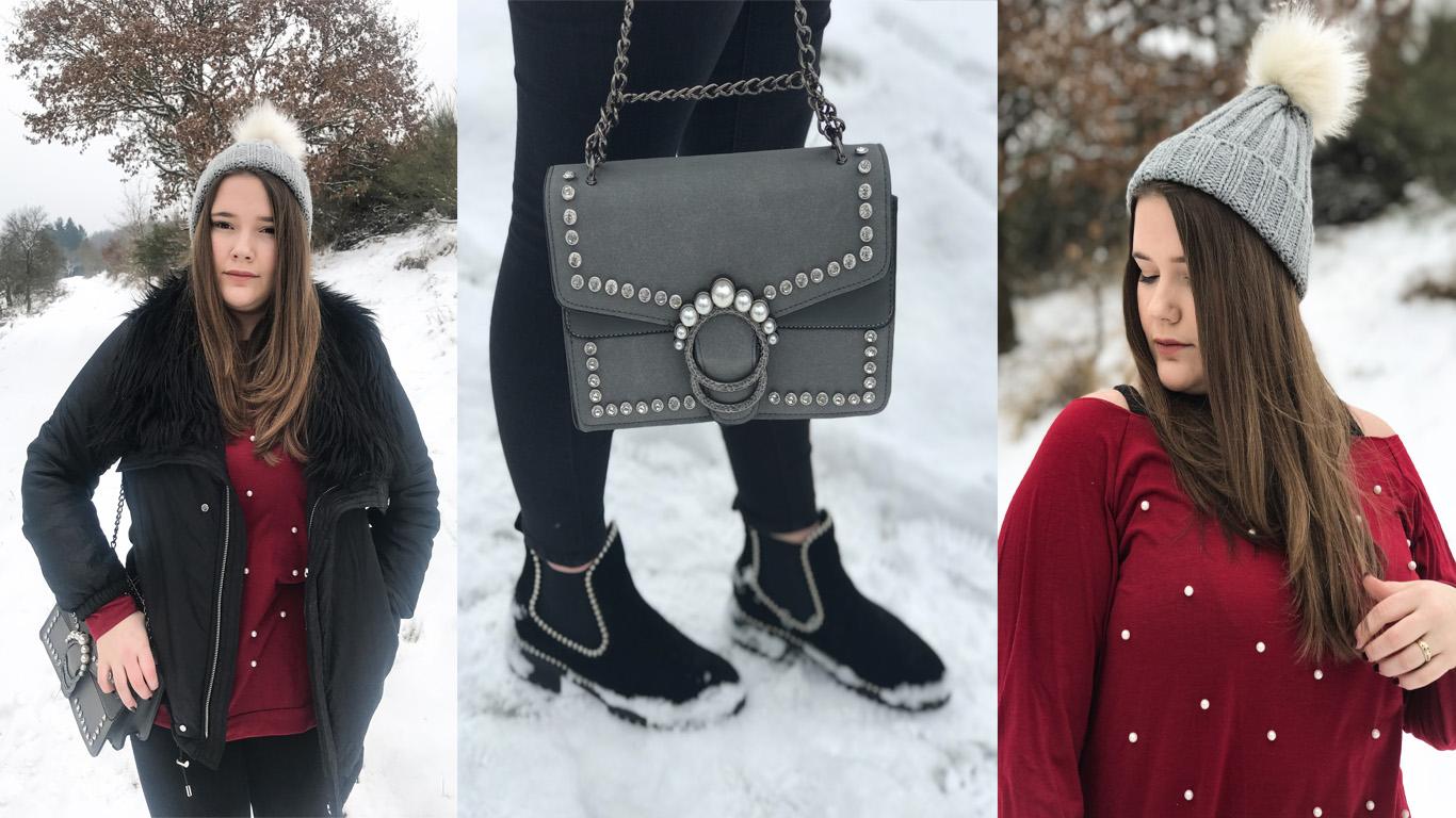 Outfit // Perlen im Winter