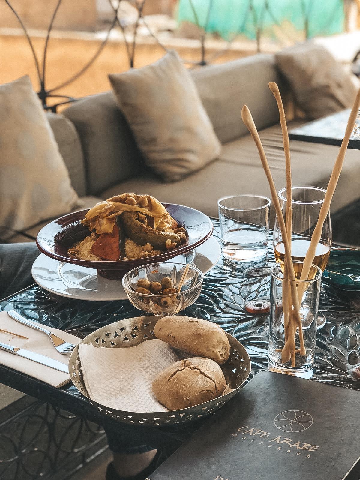 Café Arabe Marrakech Lunch