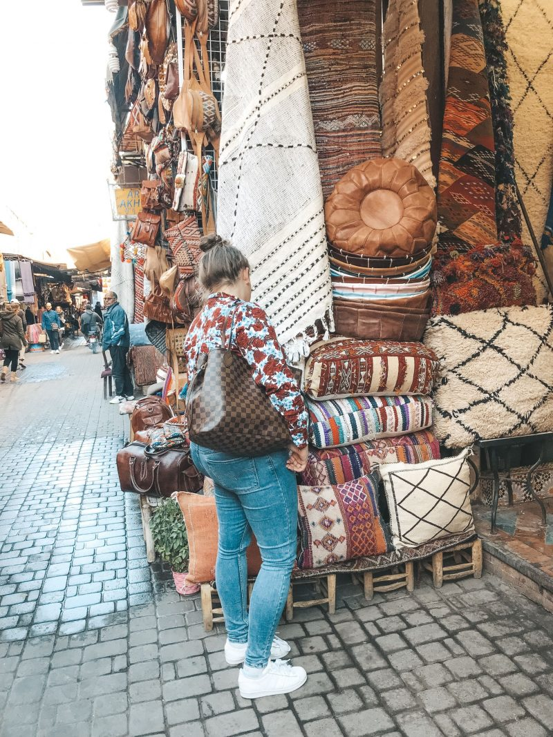 Marrakech Souk Shopping