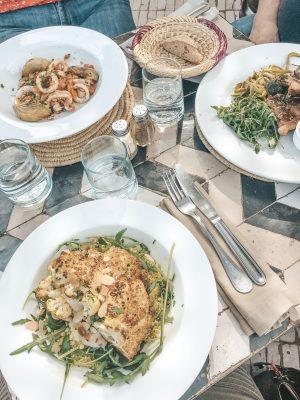 Le Nomad Marrakech Vegetarisches Essen