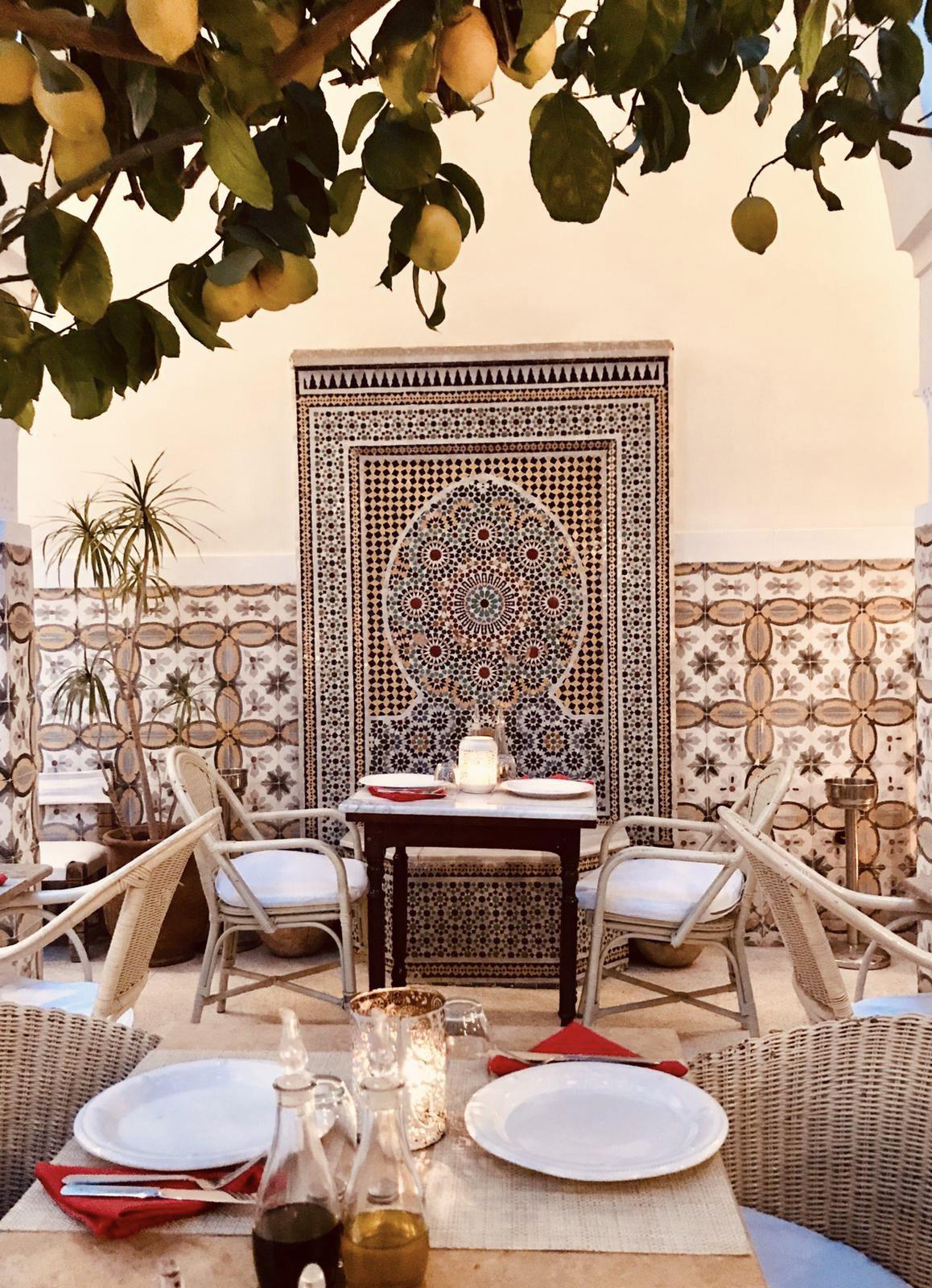 Limoni Restaurant Marrakech Mosaik
