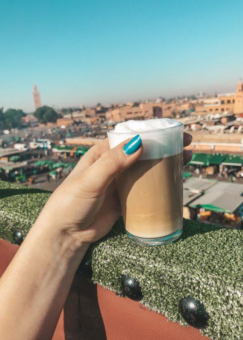 Coffee View Marrakech Café de France